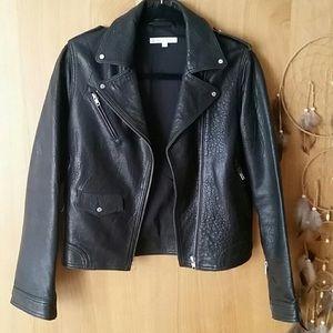 "Paul & Joe Sister ""Buffy"" Leather Jacket"